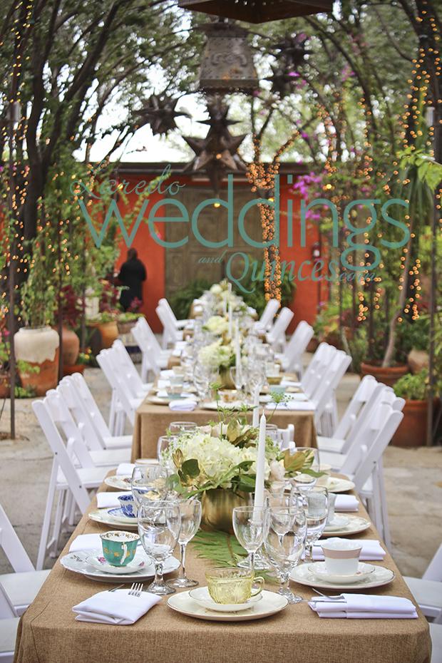 Attractive Intimate Outdoor Wedding At Vegau0027s Patio