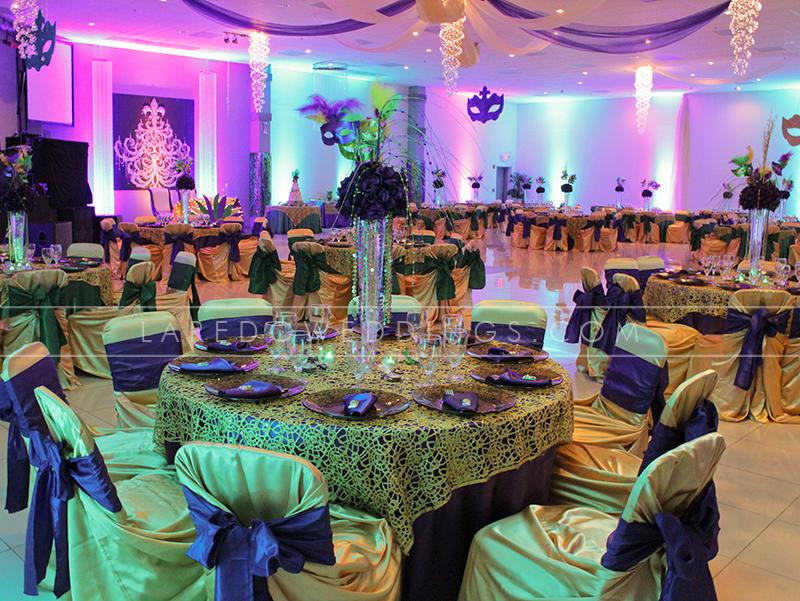 Mirage Mardi Gras Quince Laredo Weddings And Quinces