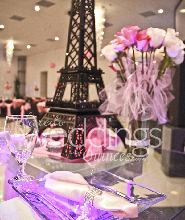 Mirage Reception Paris Quince Laredo Weddings And Quinces