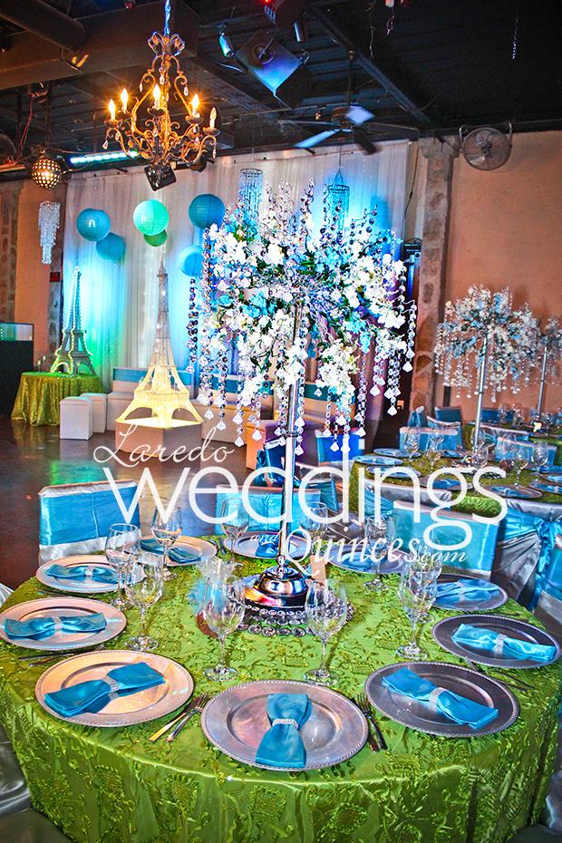San rafael paris themed quince laredo weddings and quinces
